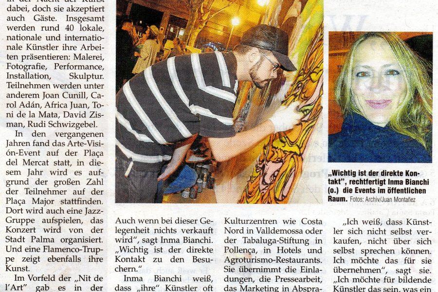 Nit de L´art Mallorca Magazin