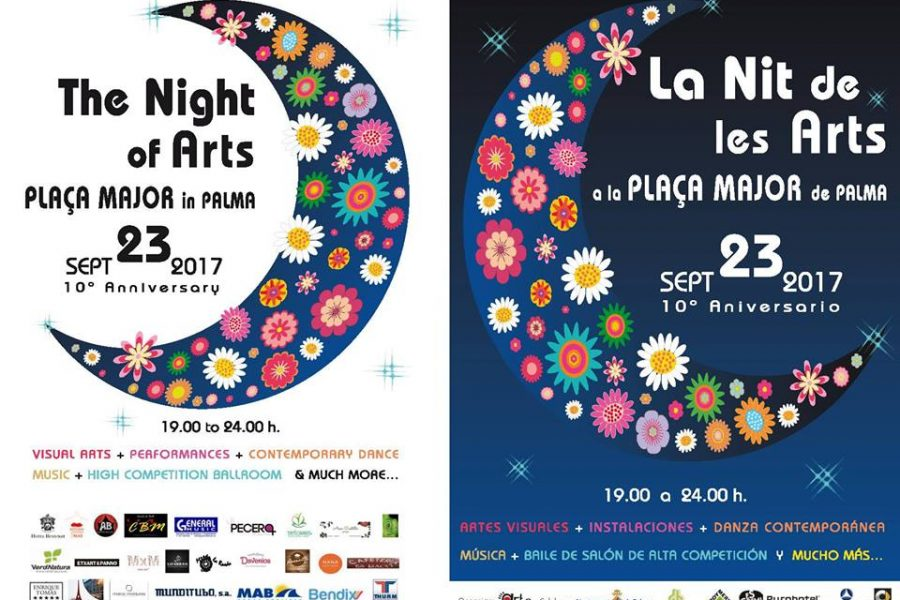 The Night of Arts in Plaça Mayor in Palma