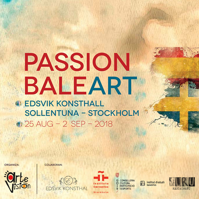 Passion Baleart – Edsvik Konsthall – Estocolmo 2018